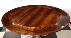 Dyrlund A Danish Rosewood Lotus Design Dining Table by Dyrlund - 1083822