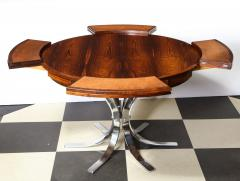 Dyrlund A Danish Rosewood Lotus Design Dining Table by Dyrlund - 1083823