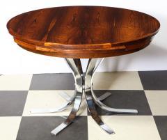 Dyrlund A Danish Rosewood Lotus Design Dining Table by Dyrlund - 1083824