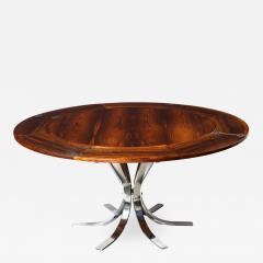 Dyrlund A Danish Rosewood Lotus Design Dining Table by Dyrlund - 1084141