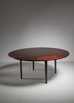 Dyrlund Dyrlund flip flap Lotus dining table Denmark 1960s - 951765