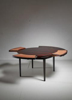 Dyrlund Dyrlund flip flap Lotus dining table Denmark 1960s - 951766