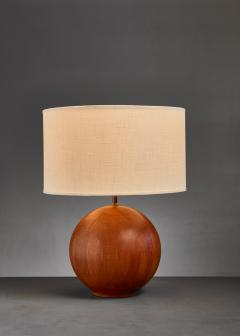 Dyrlund Dyrlund globe shaped wood table lamp Denmark - 813935