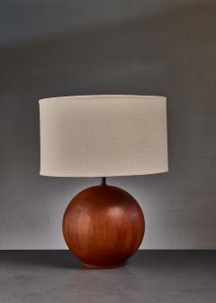 Dyrlund Dyrlund globe shaped wood table lamp Denmark - 813944