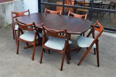 Dyrlund Gorgeous Rosewood 2 Leaf Oval Pedestal Dining Table by Dyrlund - 2093771