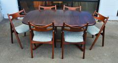 Dyrlund Gorgeous Rosewood 2 Leaf Oval Pedestal Dining Table by Dyrlund - 2093831