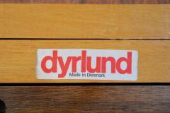 Dyrlund Gorgeous Rosewood 2 Leaf Oval Pedestal Dining Table by Dyrlund - 2093832