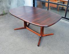 Dyrlund Gorgeous Rosewood 2 Leaf Oval Pedestal Dining Table by Dyrlund - 2093844
