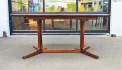 Dyrlund Gorgeous Rosewood 2 Leaf Oval Pedestal Dining Table by Dyrlund - 2093845