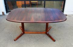 Dyrlund Gorgeous Rosewood 2 Leaf Oval Pedestal Dining Table by Dyrlund - 2093847