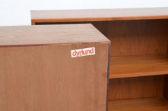 Dyrlund Pair of Minimalistic Hanging Danish Teak Shelving Units by Dyrlund - 874917