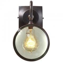 Early Electrics LLC Double Magnifying Glass Sconce - 951060