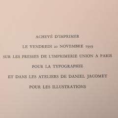 Edition D Art Du Lion Jean Lurcat Zodiaque portfolio - 1105591