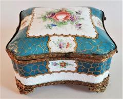 Edme Samson et Cie 19th Century Samson Paris Porcelain Trinket Box - 1697751