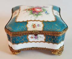 Edme Samson et Cie 19th Century Samson Paris Porcelain Trinket Box - 1697752