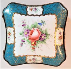 Edme Samson et Cie 19th Century Samson Paris Porcelain Trinket Box - 1697754