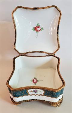 Edme Samson et Cie 19th Century Samson Paris Porcelain Trinket Box - 1697756