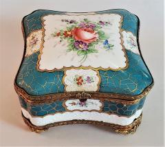 Edme Samson et Cie 19th Century Samson Paris Porcelain Trinket Box - 1697758