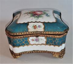 Edme Samson et Cie 19th Century Samson Paris Porcelain Trinket Box - 1697759