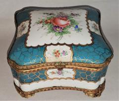 Edme Samson et Cie 19th Century Samson Paris Porcelain Trinket Box - 1697760