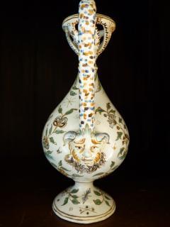 Edme Samson et Cie French renaissance style ewer - 1368828