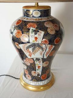 Edme Samson et Cie Pair of Samson Imari Lamps Mallett London - 1405341