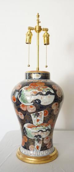 Edme Samson et Cie Pair of Samson Imari Lamps Mallett London - 1405348