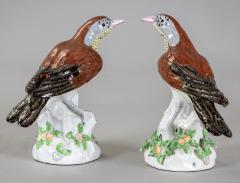 Edme Samson et Cie Porcelain Birds By Samson Pair - 1537849