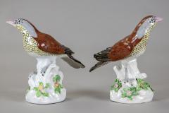 Edme Samson et Cie Porcelain Birds By Samson Pair - 1537853
