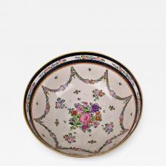 Edme Samson et Cie Samson Porcelain Bowl in the Chinese Export Armorial Taste France Circa 1910 - 2075810