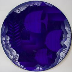 Edward Winter Transparent Enamel Metal Plaque by H Edward Winter - 469557