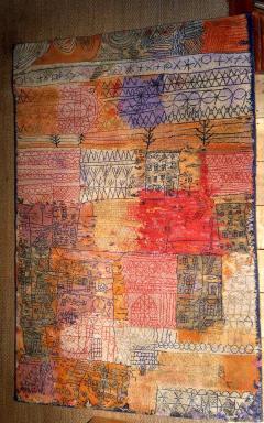 Ege Axminster After Paul Klee 1926 Painting EGE Art Line Rug Denmark 1980s - 2073352