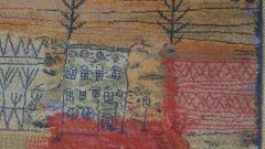 Ege Axminster After Paul Klee 1926 Painting EGE Art Line Rug Denmark 1980s - 2073353