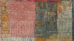 Ege Axminster After Paul Klee 1926 Painting EGE Art Line Rug Denmark 1980s - 2073355