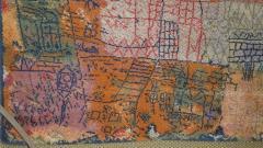 Ege Axminster After Paul Klee 1926 Painting EGE Art Line Rug Denmark 1980s - 2073358
