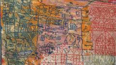 Ege Axminster After Paul Klee 1926 Painting EGE Art Line Rug Denmark 1980s - 2073359