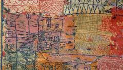 Ege Axminster After Paul Klee 1926 Painting EGE Art Line Rug Denmark 1980s - 2073360