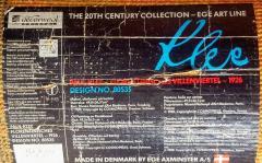 Ege Axminster After Paul Klee 1926 Painting EGE Art Line Rug Denmark 1980s - 2073363