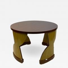 Eillen Gray MODERNIST PAIR OF TABLES IN THE MANNER OF EILEEN GRAY - 1962766
