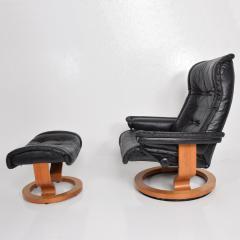 Brilliant Ekornes Stressless Vintage Scandinavian Modern Ekornes Stressless Recliner Chair Ottoman Caraccident5 Cool Chair Designs And Ideas Caraccident5Info