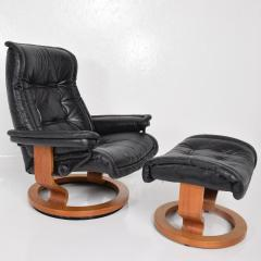 Astonishing Ekornes Stressless Vintage Scandinavian Modern Ekornes Stressless Recliner Chair Ottoman Caraccident5 Cool Chair Designs And Ideas Caraccident5Info