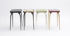 Elan Atelier Jewel Side Table in Gold Leaf - 1476853