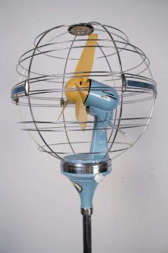 Elettrodomestici San Giorgio 1950s Italian Zodiac Rotary Floor Fan produced by San Giorgio - 1527830