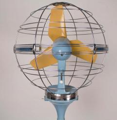 Elettrodomestici San Giorgio 1950s Italian Zodiac Rotary Floor Fan produced by San Giorgio - 1527840