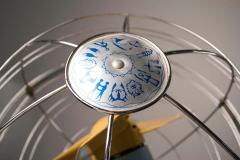 Elettrodomestici San Giorgio 1950s Italian Zodiac Rotary Floor Fan produced by San Giorgio - 1527842