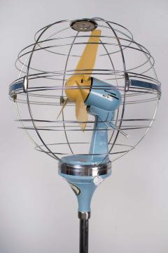 Elettrodomestici San Giorgio 1950s Italian Zodiac Rotary Floor Fan produced by San Giorgio - 1527843