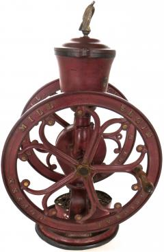 Elgin National Coffee Mill Cast Iron Coffee Grinder Elgin National Coffee Mill American Circa 1900 - 996286