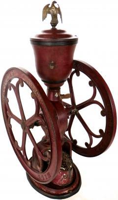 Elgin National Coffee Mill Cast Iron Coffee Grinder Elgin National Coffee Mill American Circa 1900 - 996287