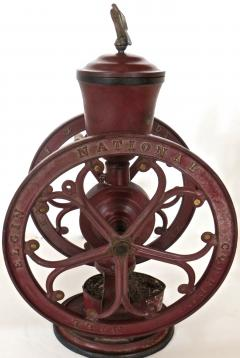 Elgin National Coffee Mill Cast Iron Coffee Grinder Elgin National Coffee Mill American Circa 1900 - 996288