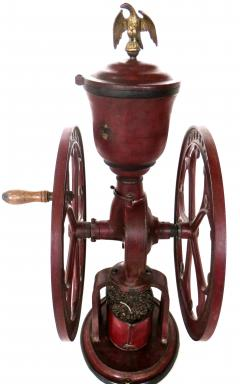 Elgin National Coffee Mill Cast Iron Coffee Grinder Elgin National Coffee Mill American Circa 1900 - 996289